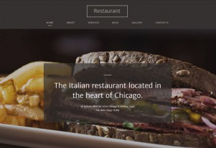 Italian Restaurant – Premium Responsive HTML5 Template