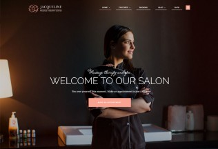 Jacqueline – Premium Responsive Spa & Massage Salon WordPress Theme