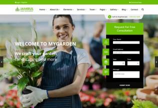 Jamrul – Premium Responsive Landscaping WordPress Theme