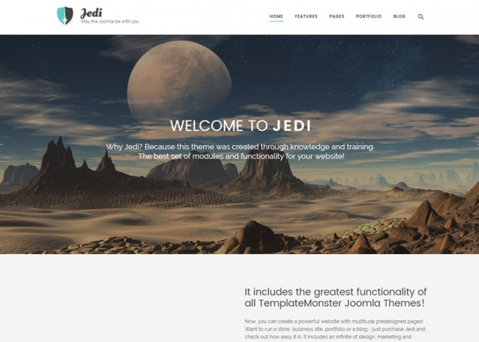 Jedi – Premium Responsive Multifunctional Joomla Template