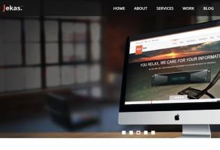 Jekas – Premium Responsive HTML5 Template