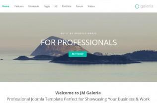 JM Galeria – Premium Responsive Parallax Joomla Business Template