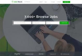 Job Stock – Premium Responsive Job Board HTML5 Template