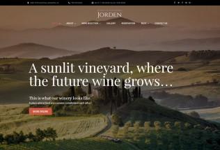 Jorden – Premium Responisve Wine & Winery WordPress Theme