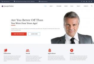 Joseph Parker – Premium Responsive Political Candidate HTML5 Template