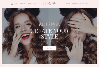 Jude – Premium Responsive Beauty Salon WordPress Theme