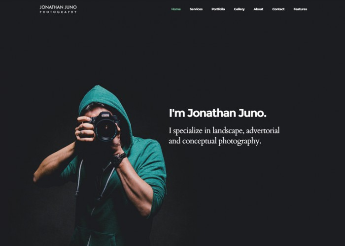 Juno – Premium Responsive Photography & Magazine HTML5 Template