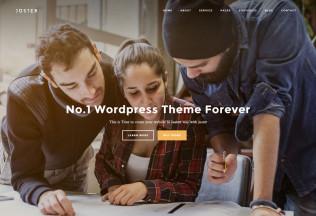 Juster – Premium Responsive Multi-Purpose WordPress Theme