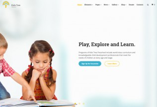 Kids Tree – Premium Responsive Education HTML5 Template