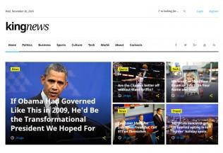 King News – Premium Responsive Magazine HTML5 Template