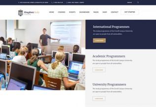 Kingdom Study – Premium Responsive Learning Management WordPress Theme