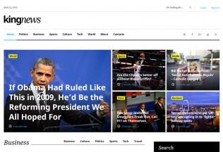 KingNews – Premium Responsive WordPress Theme