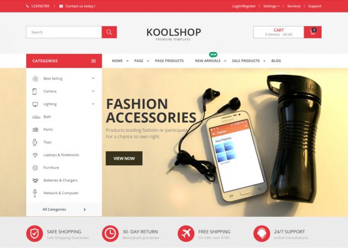 KoolShop – Premium Responsive Multipurpose Opencart Theme