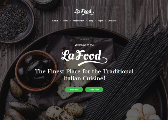 La Food – Premium Responsive Restaurant WordPress Theme