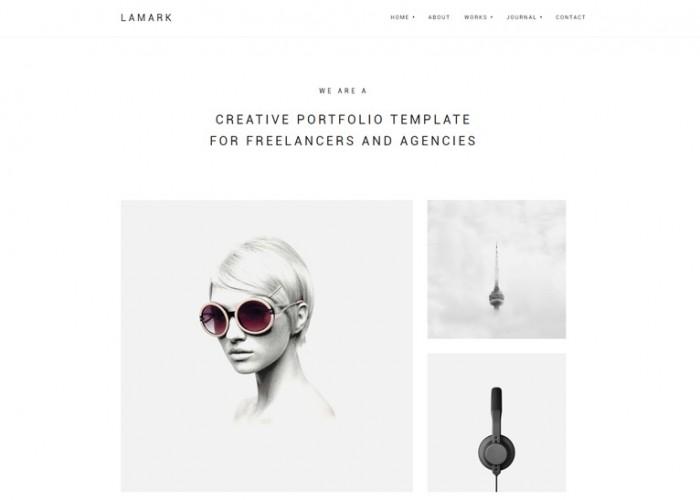 Lamark – Premium Responsive Agencies Portfolio WordPress Theme