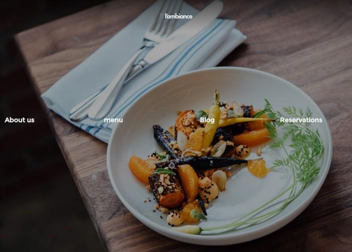 L'ambiance – Premium Responsive Restaurant WordPress Theme