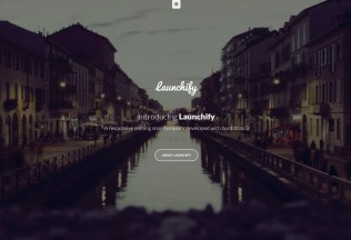 Launchify – Premium Responsive Coming Soon HTML5 Template