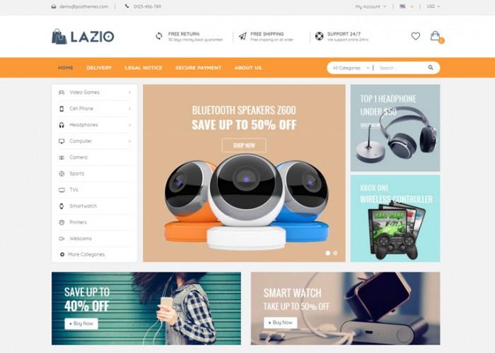 Lazio – Premium Responsive Multipurpose Prestashop Theme