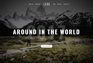 LESS – Premium Responsive MultiPurpose Creative & Business WordPress Theme