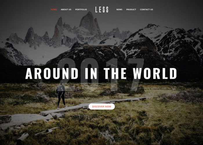 LESS – Premium Responsive MultiPurpose Creative & Business WordPress Theme