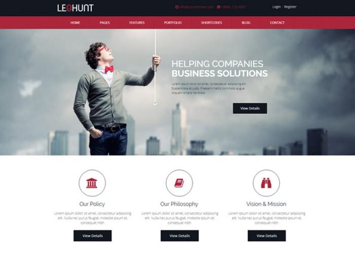 LeoHunt – Premium Responsive MultiPurpose WordPress Theme