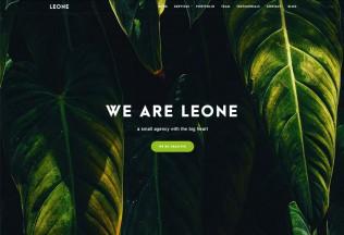 Leone – Premium Responsive One Page MultiPurpose WordPress Theme