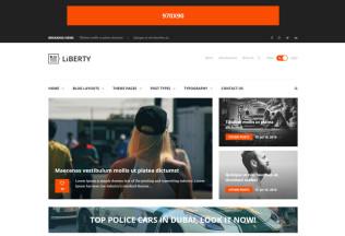 Liberty News – Premium Responsive Magazine, Blog Drupal Theme