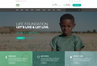 Life – Premium Responsive Charity, Non Profit HTML5 Template