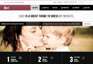 Like! – Premium Responsive Multipurpose HTML5 Theme