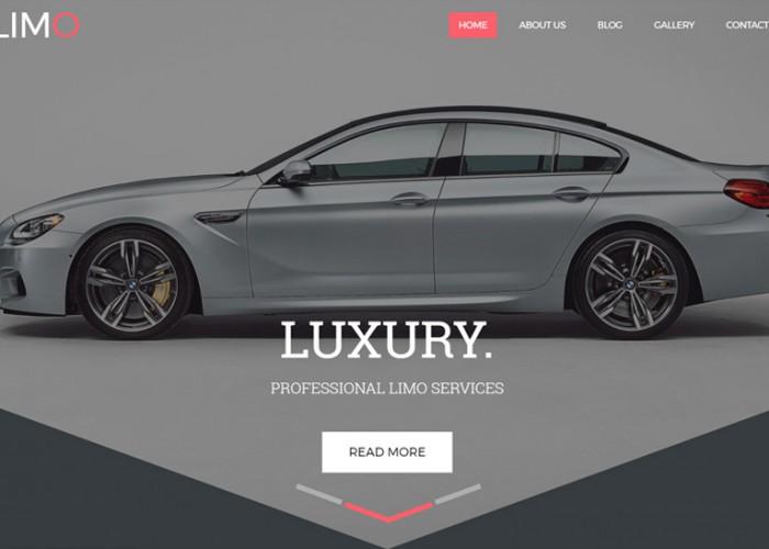 Limo – Premium Responsive Transportation HTML5 Template