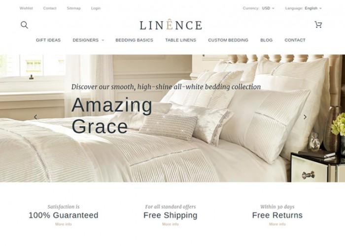 Linence – Premium Responsive Bed Linen PrestaShop Theme