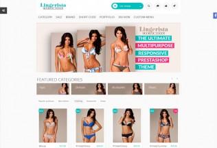 Lingerista – Premium Responsive Prestashop Shopping Theme
