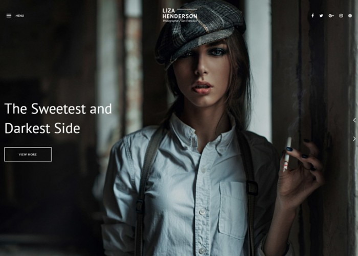 Liza – Premium Responsive Photography HTML5 Template