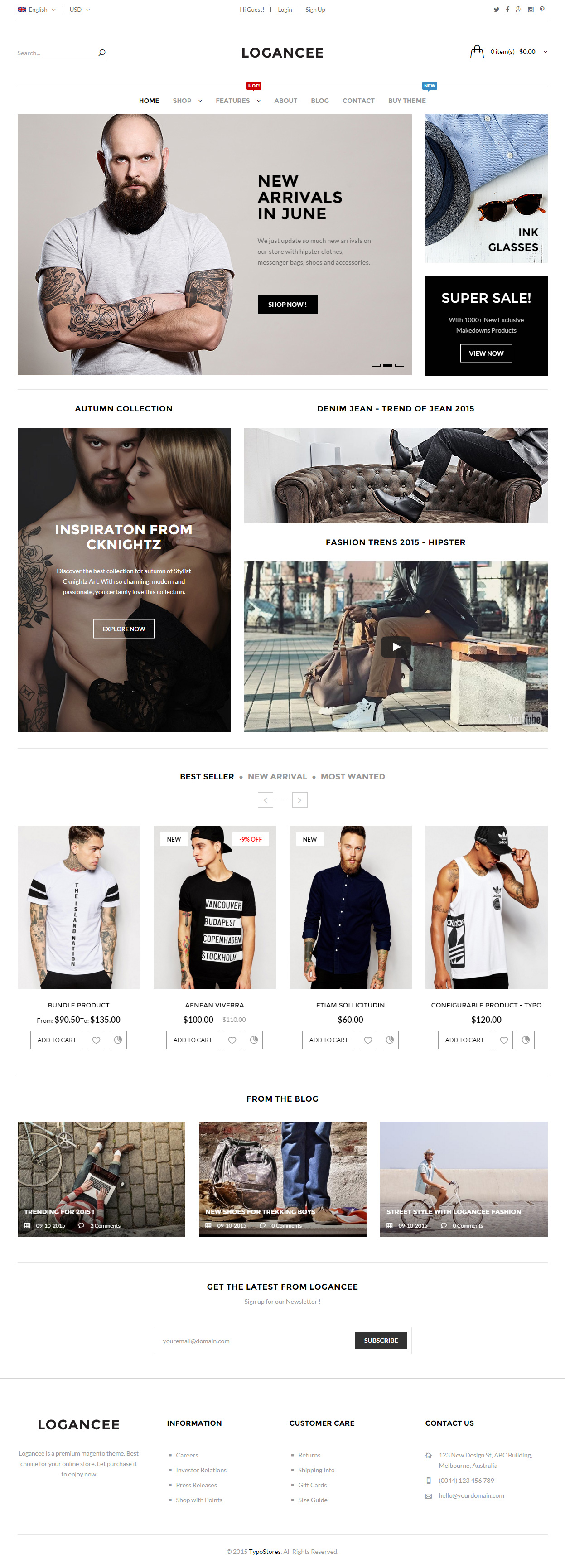 40 Best Magento Themes 2017 - Responsive Miracle