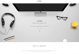LUMA – Premium Creative Multi-Purpose Muse Template