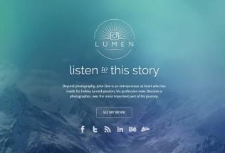 Lumen – Premium Responsive Photography WordPress Theme