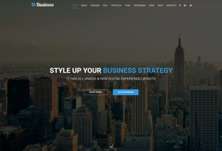 M-Business – Premium Responsive Corporate and Business HTML5 Template