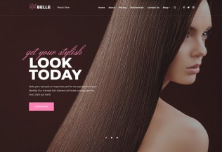 MaBelle – Premium Responsive Beauty Salon WordPress Theme