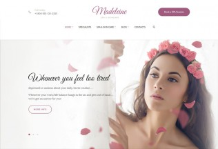 Madeleine – Premium Responsive Spa Health & Skincare WordPress Theme