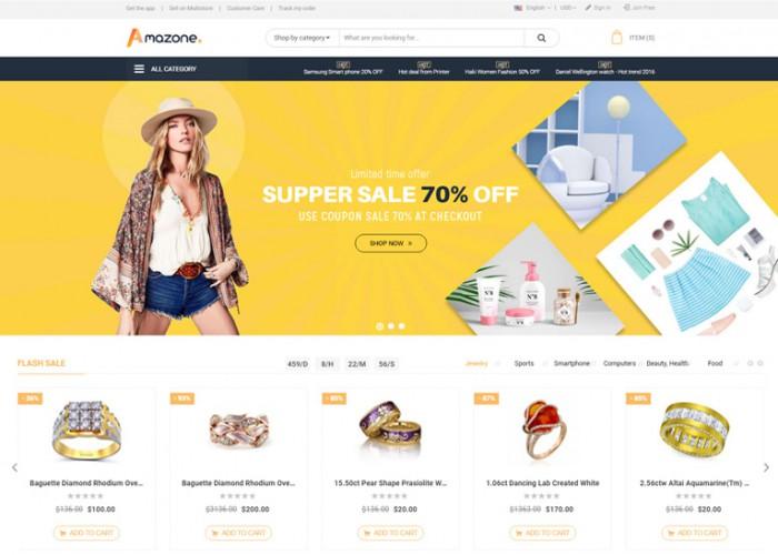Mag2 Marketplace – Premium Responsive Magento 2 Theme