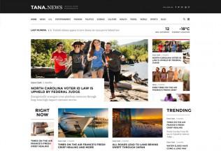 Magazine Tana – Premium Responsive 8 in 1 Magazine WordPress Theme
