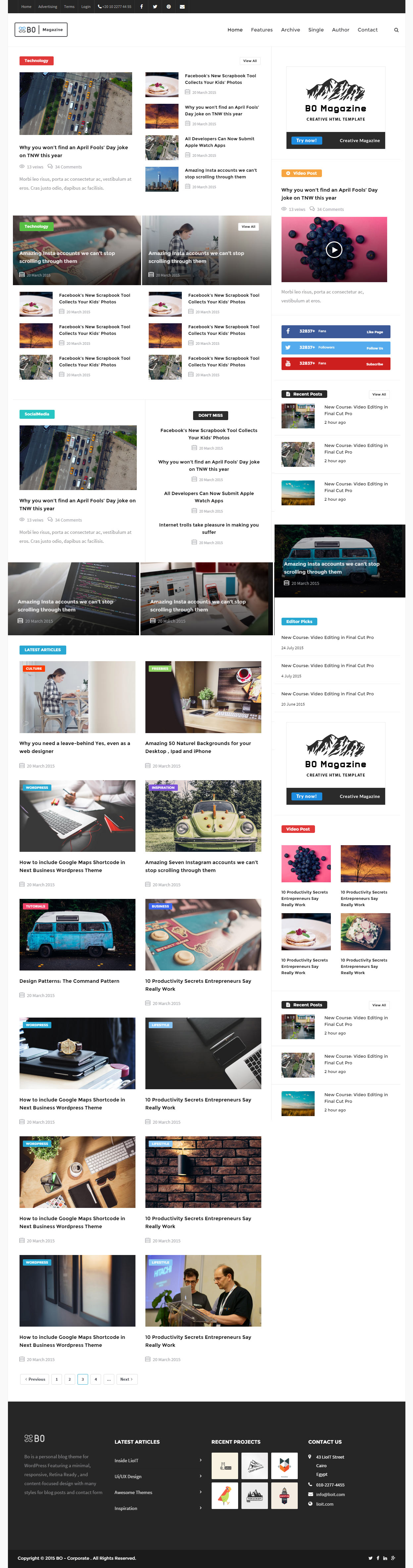 10 Best Responsive News and Magazine HTML5 Templates in 2015 ...