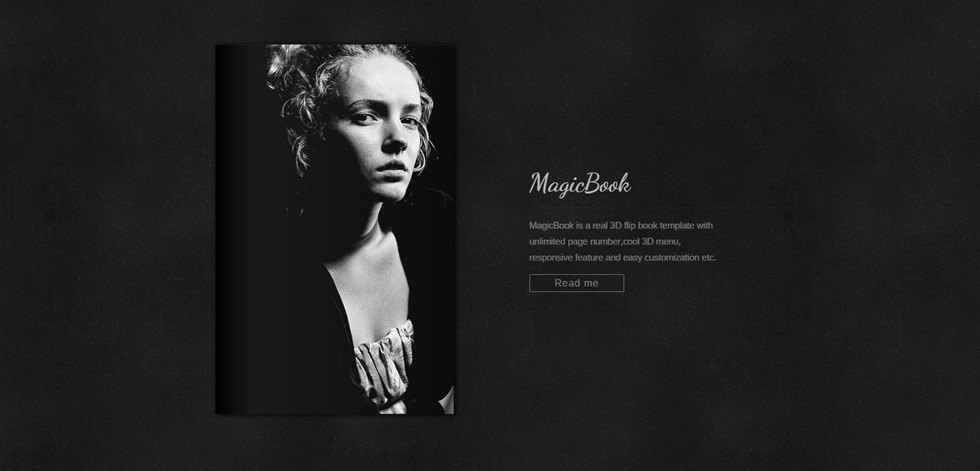 Magicbook Premium Responsive 3d Flip Book Wordpress Theme