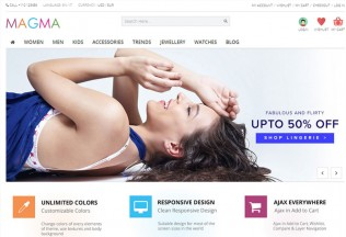 Magma – Premium Responsive Fashion PrestaShop Template