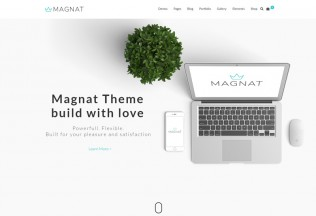 Magnat – Premium Responsive MultiPurpose WordPress Theme