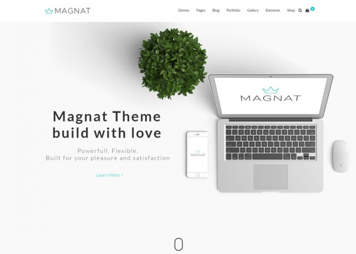 Magnat – Premium Responsive MultiPurpose WordPress Theme