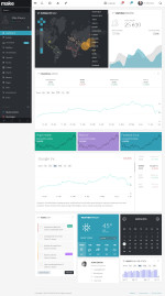 45+ Best Responsive HTML5 Admin Dashboard – Panel Templates in 2015