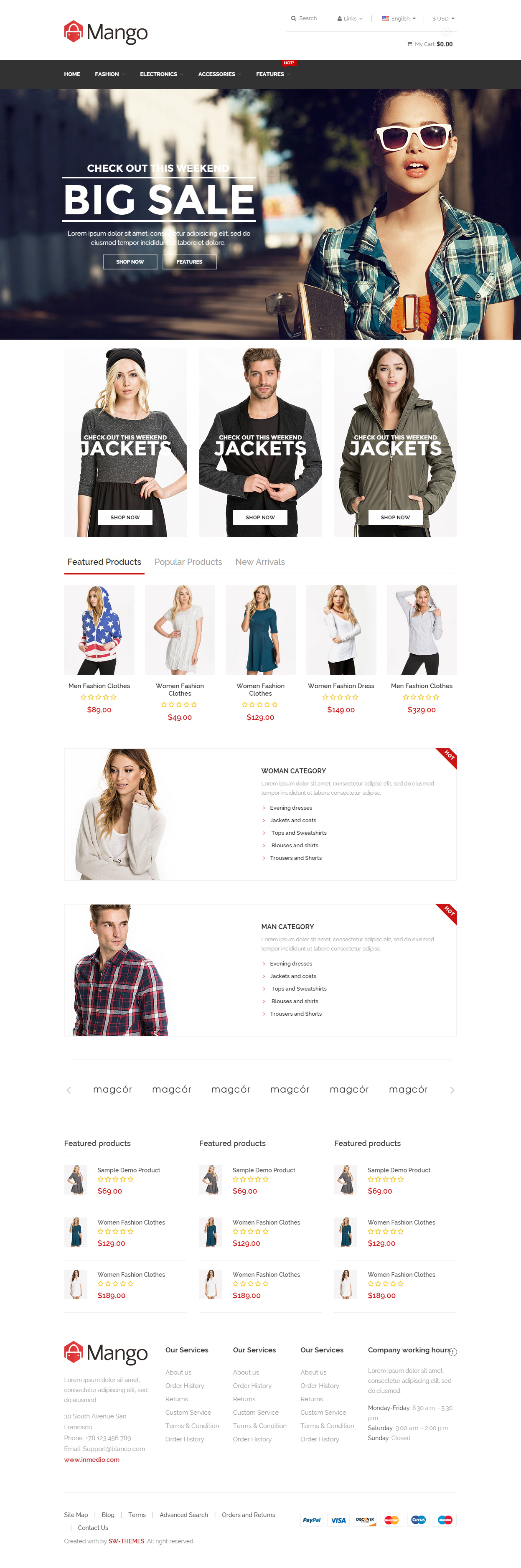 40 Best Responsive Magento Fashion Themes 2017 - Responsive Miracle