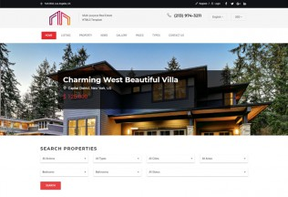 Manour – Premium Responsive Real Estate Bootstrap HTML5 Template