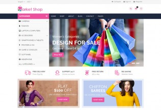 Marketshop – Premium Responsive Multipurpose E-Commerce HTML5 Template
